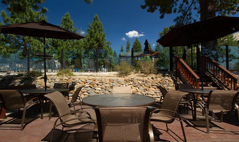 deck overlooking lake tahoe